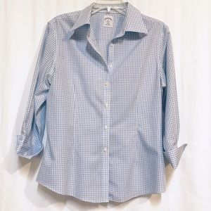 Brooks Brothers 346 fitted non-iron shirt size 12